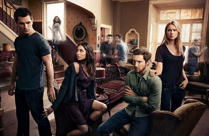 """Eine WG mit Biss: sixx zeigt die vierte Staffel der US-Mystery-Serie """"Being Human"""" ab 14. November 2014"""