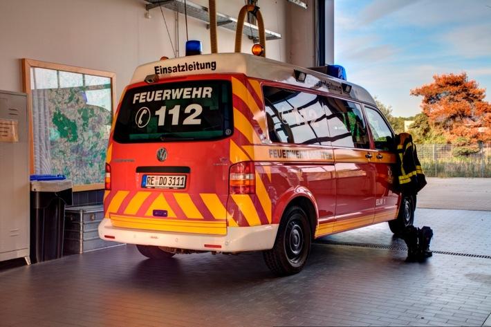FW-Dorsten: Schwerer Verkehrsunfall auf der A 31-2 Rettungshubschrauber im Einsatz