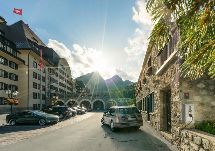 Die Grand Tour of Switzerland in grün / Den Road Trip durch die Schweiz umweltfreundlich mit dem Elektroauto erleben - jetzt buchbar als E-Grand Tour