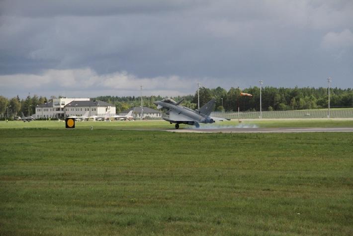 Verstärktes Air-Policing Baltikum beginnt