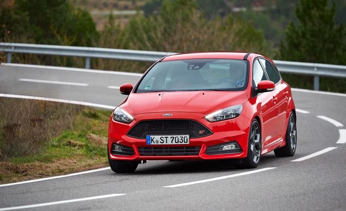 Ford Focus ST: Nachfrage hat sich verdoppelt - Diesel-Modell ab sofort mit Powershift-Getriebe und Schaltwippen bestellbar