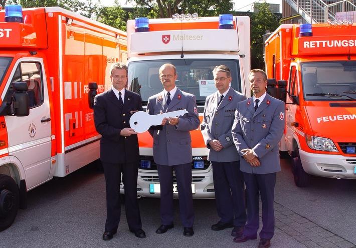FW-E: Essener Rettungsdienst mit neuen Autos unterwegs