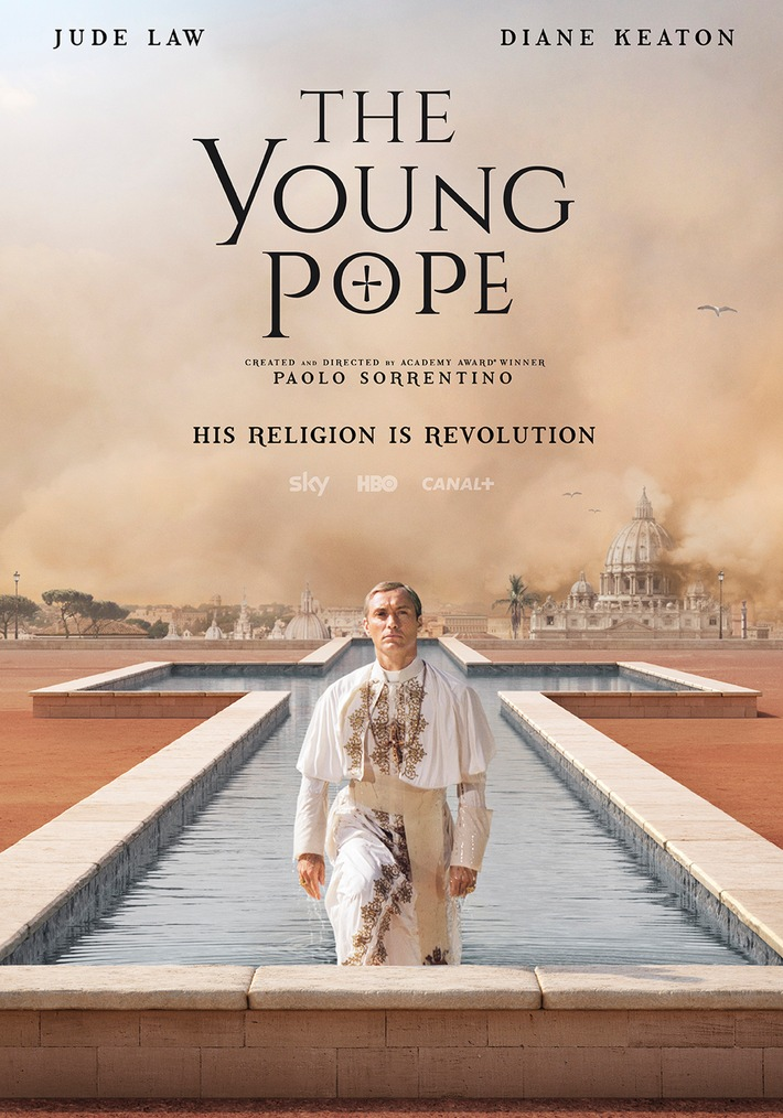 """""""The Young Pope"""": Die beeindruckende Gemeinschaftsproduktion von Sky, HBO und Canal+ ab 21. Oktober exklusiv auf Sky"""