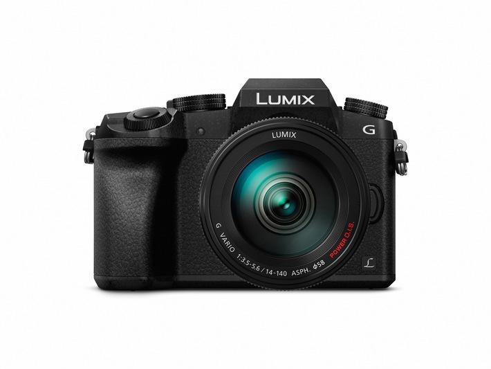 LUMIX G70: 4K-Foto- und -Video-Multitalent / Mit zahlreichen Verbesserungen überzeugt die G70 als Allrounder und erweitert die Welt der Fotografie durch neue 4K-Fotofunktionen