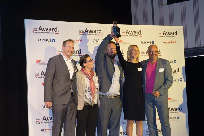 Swiss Award Corporate Communications®: ouverture du dépôt des candidatures