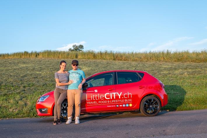Zusammenarbeit mit dem beliebten Blog / LittleCITY.ch künftig mit SEAT auf Reisen