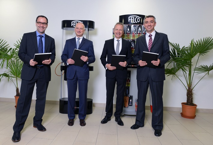 STIHL und Felco starten Partnerschaft (BILD)
