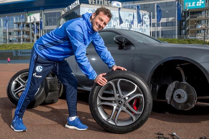 """""""Von O bis O"""": Schalke-Trainer Markus Weinzierl denkt an Sommerreifen"""
