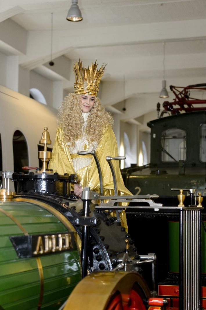179 Jahre Adler: Vorweihnachtliche Geburtstagsfeier im DB Museum in Nürnberg