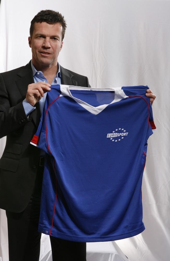 Lothar Matthäus wird exklusiver internationaler Experte für die UEFA EURO 2008 bei Eurosport