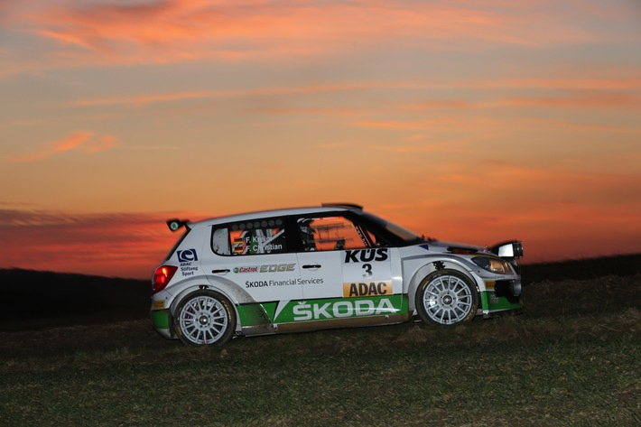 New Kid on the Block: Rallye-Kundensportszene wartet gespannt auf den neuen SKODA Fabia R 5