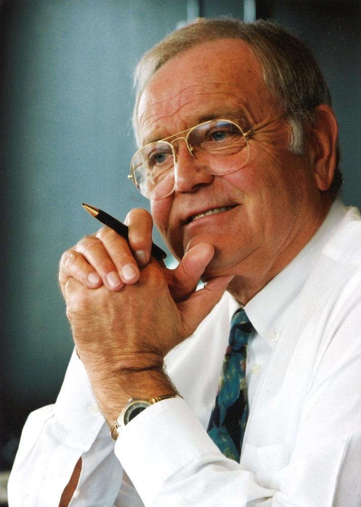 Heinz Hankammer, Erfinder des Tisch-Wasserfilters und Gründer der BRITA GmbH, ist verstorben