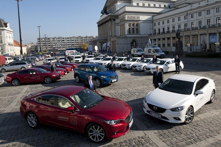 Mazda unterstützt erneut den Weltgipfel der Friedensnobelpreisträger