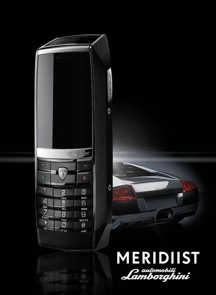 MERIDIIST Automobili Lamborghini, le nouveau téléphone portable de luxe par TAG Heuer