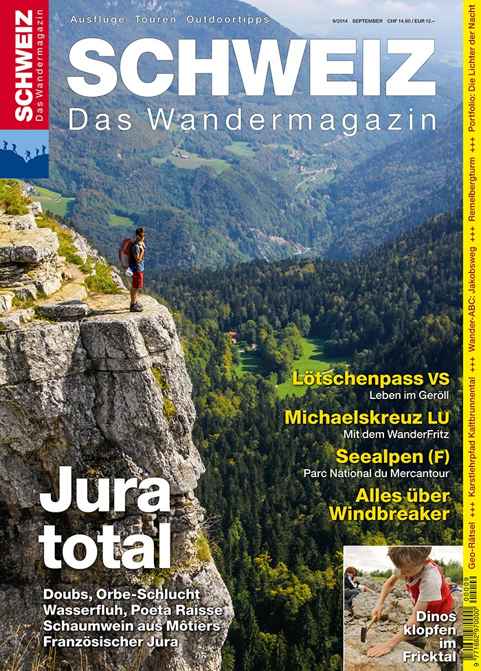 Wandermagazin SCHWEIZ: Jura total (BILD)