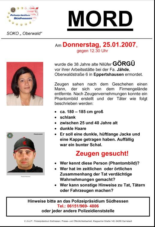 """POL-SHDD: Eppertshausen - Nachtrag zu den Pressemitteilungen - """"Tote im Fahrzeug"""""""