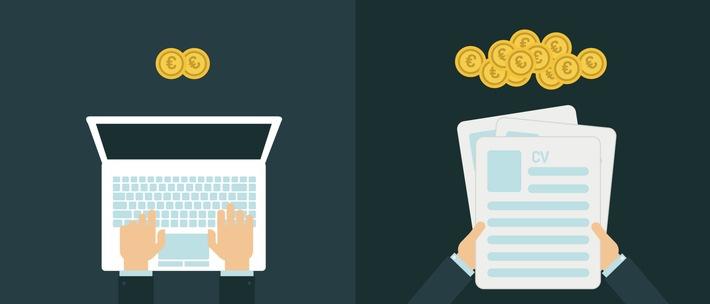 Recruiting mit Liste und Mailprogramm: ineffizient und teuer / Händische Verfahren in der Personalgewinnung kosten Geld und sind mit Imagerisiken verbunden
