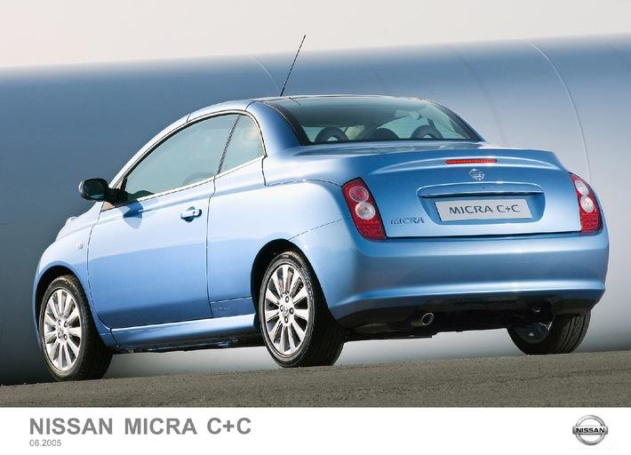 Nissan Micra C+C: Open-Air-Vergnügen bei jedem Wetter