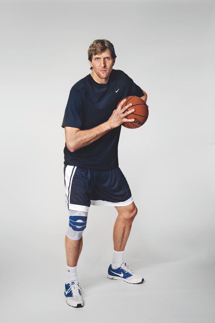 Partenariat mondial : Dirk Nowitzki devient ambassadeur de la marque Bauerfeind