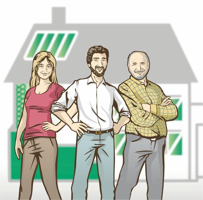 """dena startet Wettbewerb """"Sanierungshelden"""" für Ein- und Zweifamilienhausbesitzer / Gesucht sind Geschichten rund ums energetische Sanieren / Preise im Wert von mehr als 20.000 Euro"""