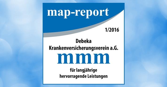 """map-report: """"Die Debeka verteidigt erneut die Position als bester privater Krankenversicherer"""""""