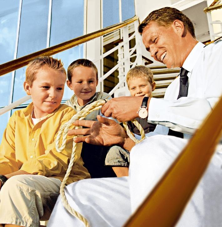Familienurlaub auf hoher See: MS EUROPA mit zwei neuen Familienreisen im Programm (mit Bild)