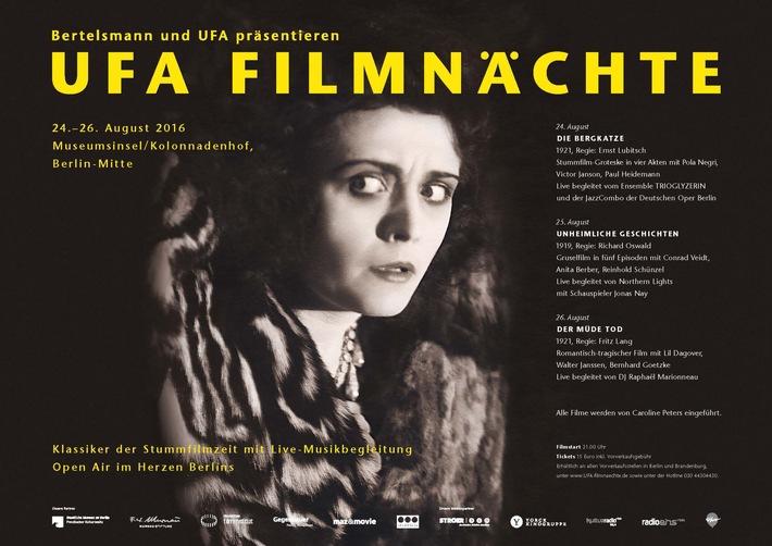 Bertelsmann und UFA laden zu 6. UFA Filmnächten auf die Berliner Museumsinsel