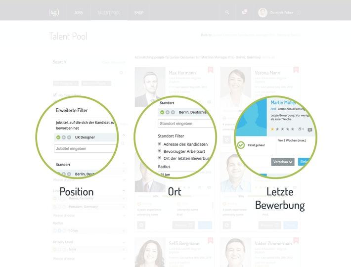"""E-Recruiting der Zukunft: Candidate Experience 2.0 / softgarden auf der """"Zukunft Personal 2015"""""""