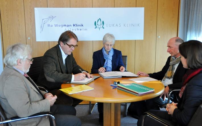 Die Arlesheimer Kliniken planen eine gemeinsame Zukunft (BILD/AHNHANG)
