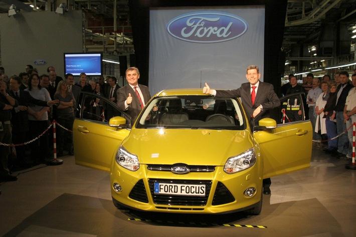 Start frei für den neuen Ford Focus