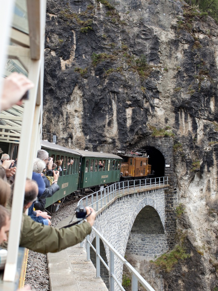 Bahnmuseum Albula in Bergün: Erfolgreiches erstes Betriebsjahr, attraktives Programm für den Sommer