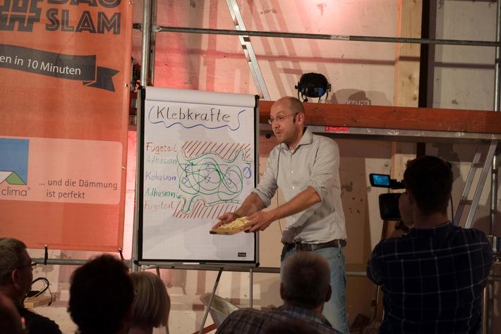 Afterwork-Bauparty mit Slambeiträgen und Musikvideo-Premiere / Zweiter Bauslam am 2. Juni in der Wollfabrik in Schwetzingen mit Live-Band Jubilee Jumpers