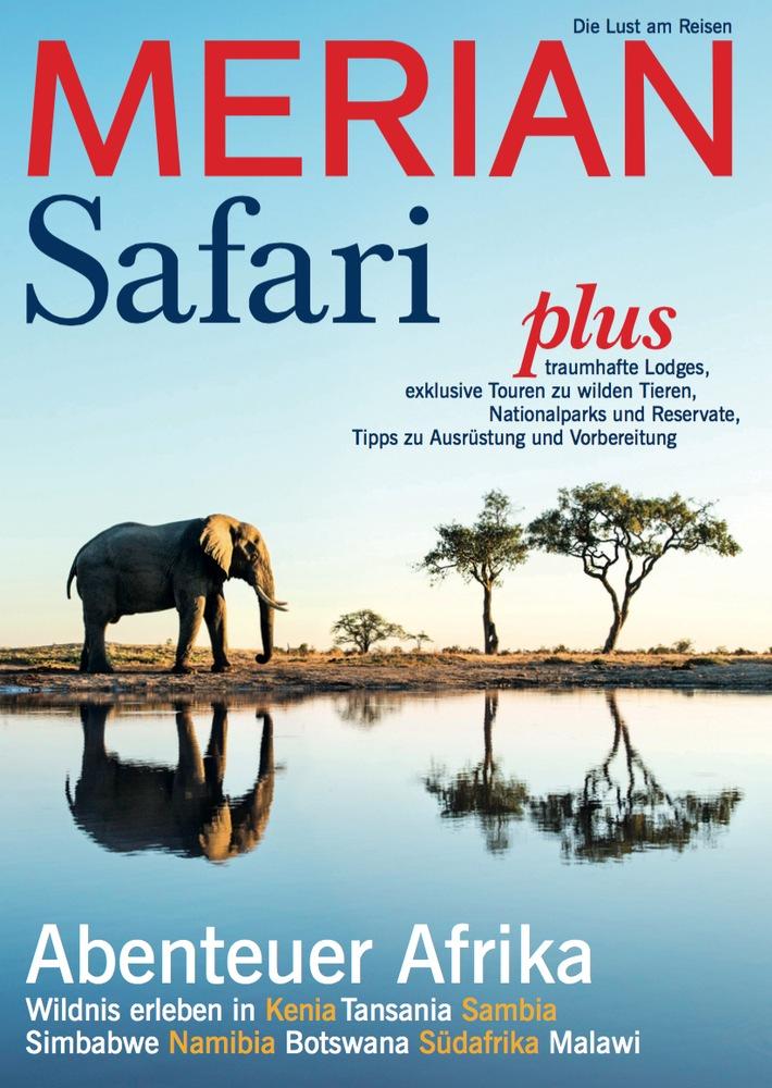 """""""Safari - Abenteuer Afrika"""" / Am 25. Februar 2016 erscheint der neue MERIAN Safari"""