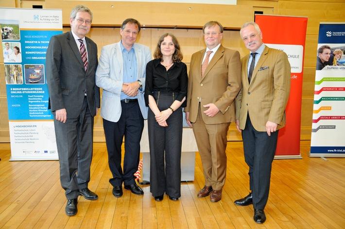 Hochschulen Schleswig-Holsteins feiern gemeinsam den erfolgreichen Start von 29 innovativen Online-Kursen