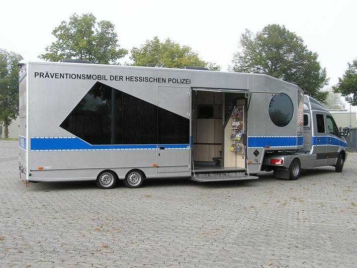 """POL-DA: Südhessen: """"Einbruch? Nicht bei mir!""""/ Polizei ab 20.10.2011 auf Präventionstour durch Südhessen"""