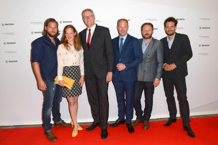 Deutsche Schauspielstars bei Weltpremiere des SKODA KODIAQ hautnah dabei