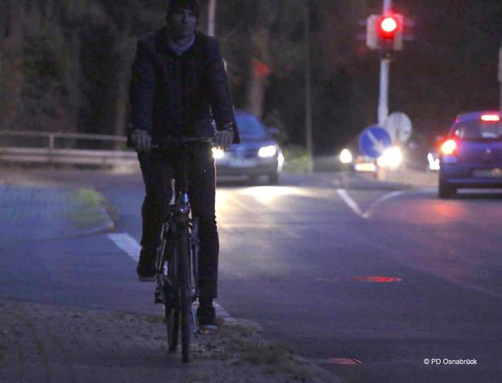 Wenn die Tage kürzer werden, werden auch schnell Verkehrsteilnehmer übersehen.