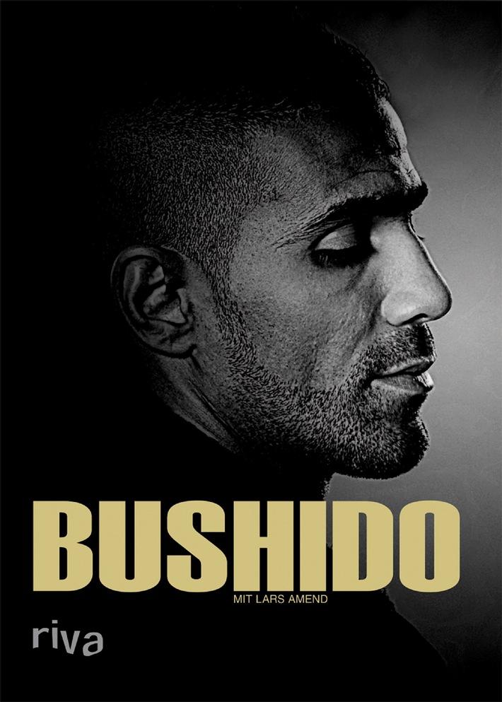 """Das Buch """"Bushido"""" von Bushido ist auf Platz 1 der Spiegel-Bestsellerliste! / Damit ist er, neben Oliver Kahn, der zweite riva-Autor in den Top 20 der renommiertesten Bestsellerliste Deutschlands"""
