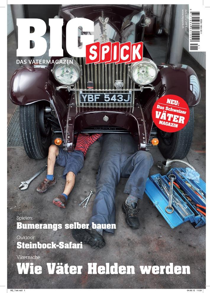 Geburtsanzeige: BIG SPICK - das Vätermagazin