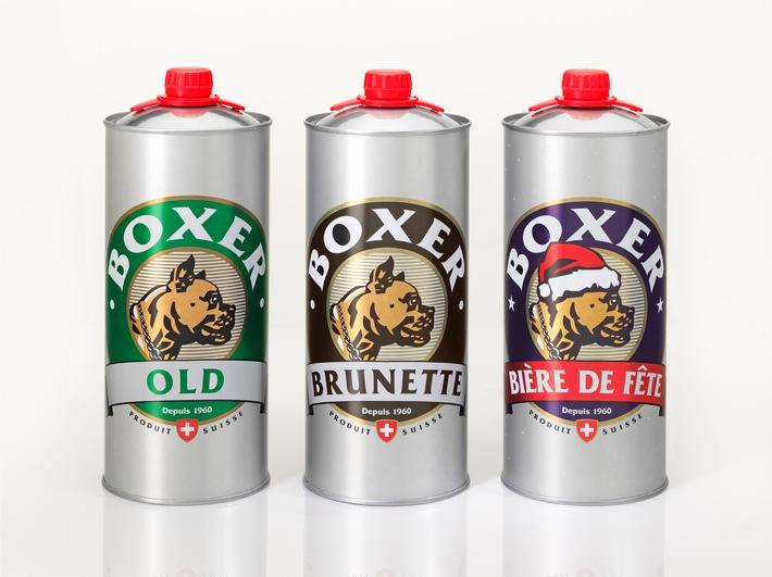 Nouveauté à la Bière du Boxer / une canette de 2 litres pour les grandes soifs ...
