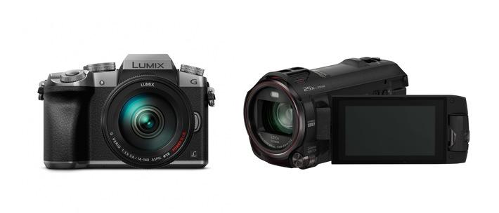 Panasonic zweifach mit EISA-Award ausgezeichnet / Die 4K-Kamera LUMIX G70 und der 4K Ultra HD Camcorder WX979 erhalten jeweils eine der begehrten Auszeichnungen