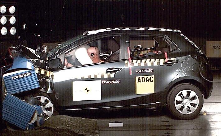 Der neue Mazda2 erhält 5 Sterne beim Euro NCAP Crashtest
