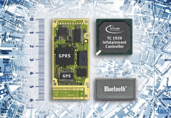 Infineon ermöglicht High-Tech-Kommunikation standardmäßig in Autos jeder Klasse