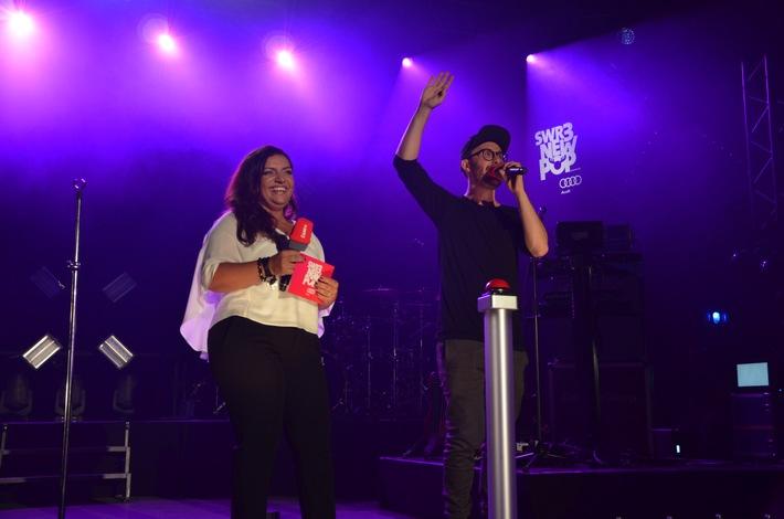 Drei Tage Livemusik: SWR3 New Pop Festival hat begonnen
