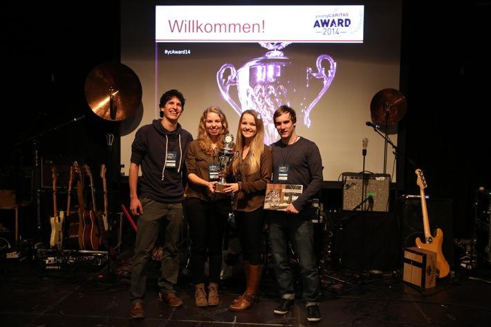 youngCaritas-Award: Clevere Ideen für eine gerechtere Welt ausgezeichnet
