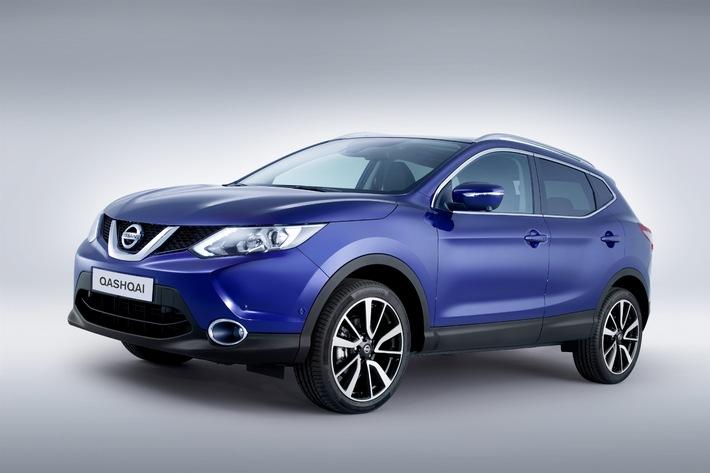 Nissan QASHQAI: Der Original-Crossover in Neuauflage (BILD)