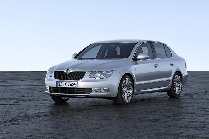 SKODA Superb gewinnt bei Leserwahl der 'Besten Autos 2013'