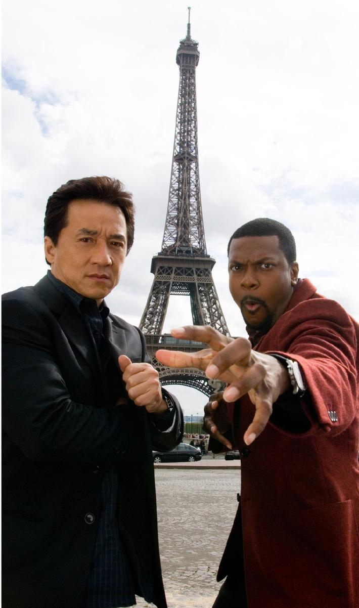 """Ein Amerikaner (und ein Chinese) in Paris: """"Rush Hour 3"""" auf ProSieben"""