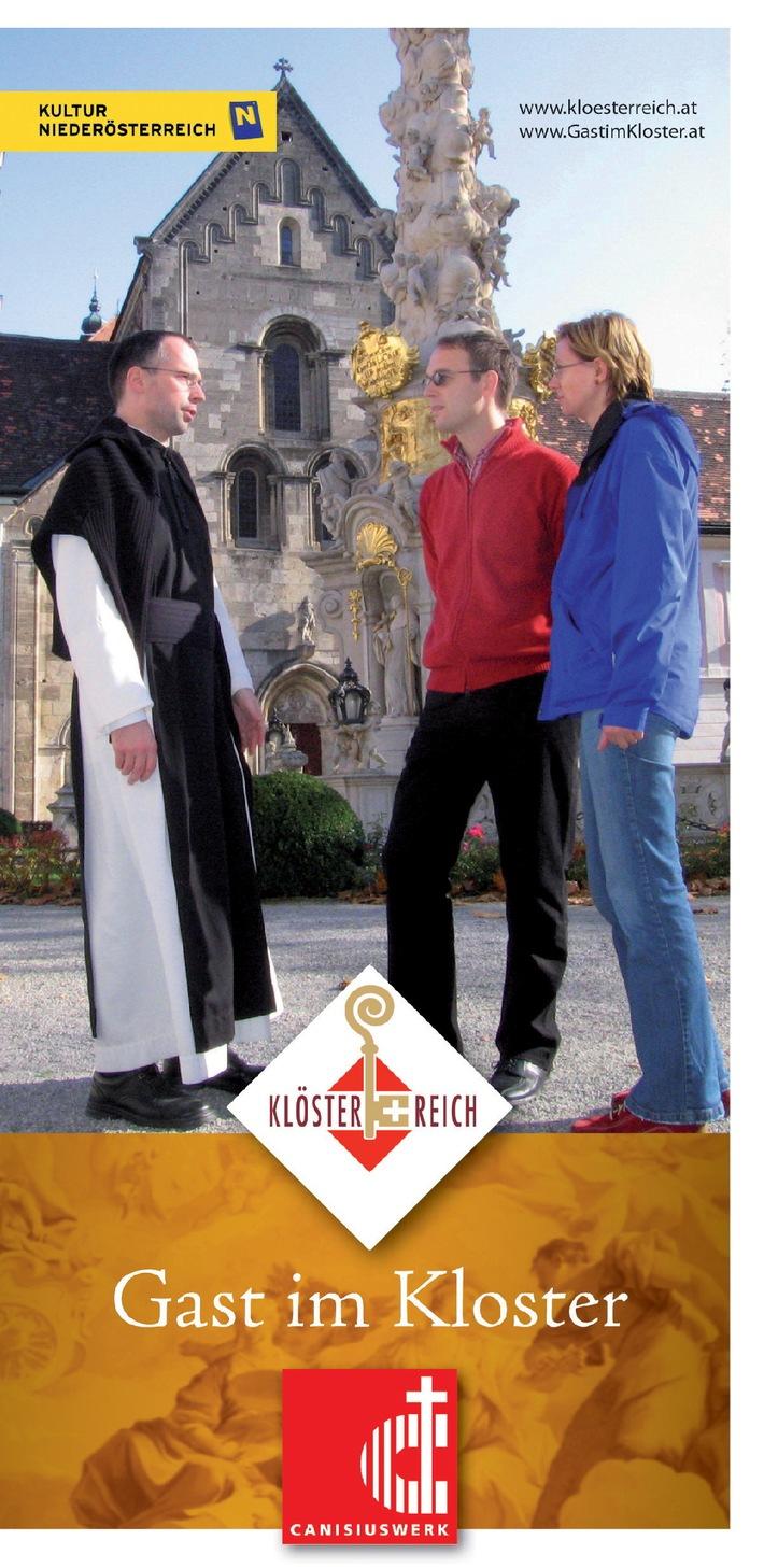 """Neue Broschüre """"Gast im Kloster"""""""