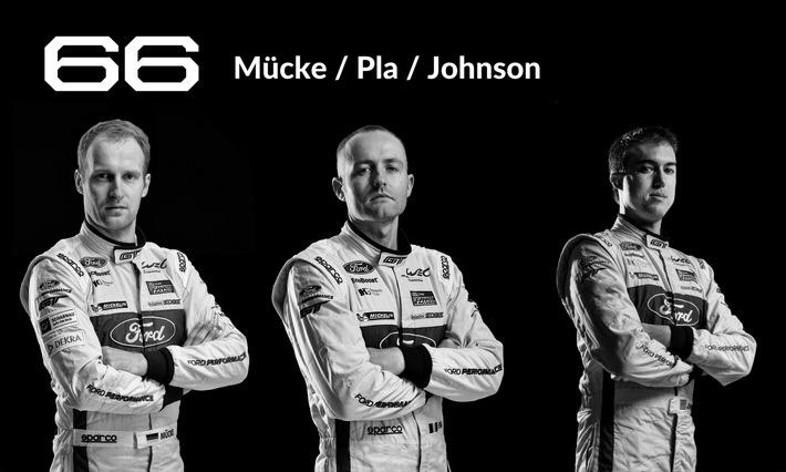 Das 24 Stunden-Rennen von Le Mans: alle Ford Werksfahrer im Porträt